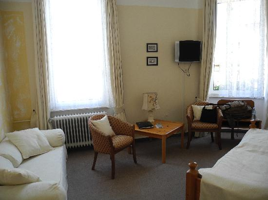Boppard Hotel Ohm Patt: The room was spacious and comfortable.