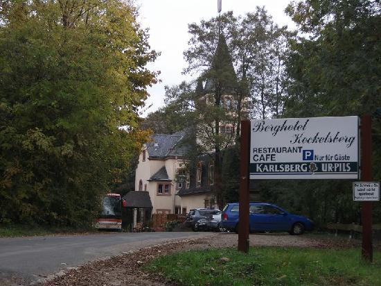 Berghotel Kockelsberg : Aussenansicht