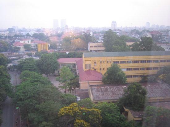 Hanoi Hotel: ホテルの窓から