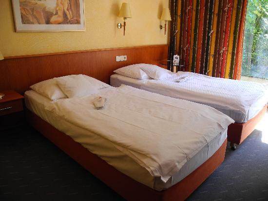 Hotel Zum Roten Bären: Comfy room at The Hotel Zum Roten Baeren