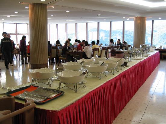 Daemyung Resort Gyeongju: Breakfast area