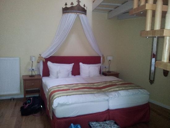 Marchenhotel: Das Schlafzimmer - Zimmer Göttin des Glücks
