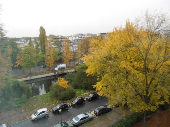 InterContinental Berlin: View from my room