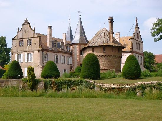 Chateau d'Osthoffen : Castle