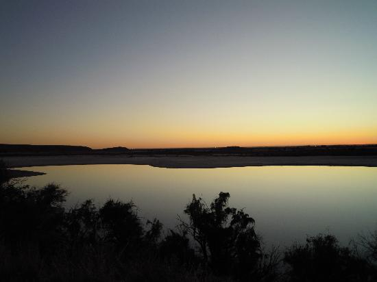 Bottomless Lakes State Park: Sunset