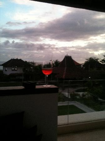 Pantai Indah Villas Bali: On the rooftop