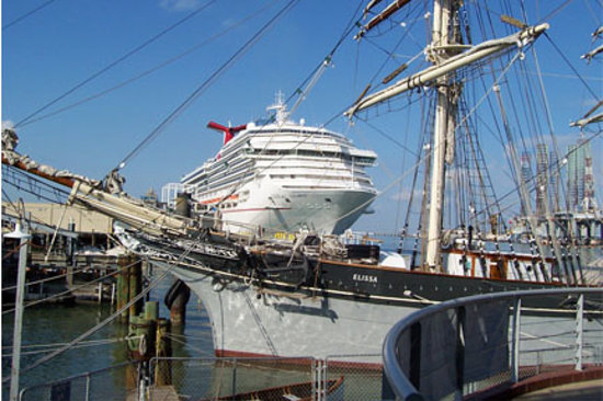 Texas Seaport Museum: past & present ..i'll take the past