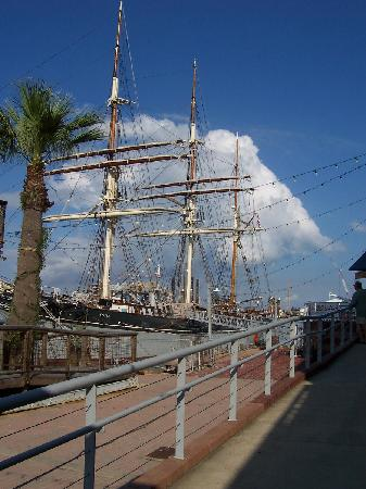 Texas Seaport Museum: parting picture of her