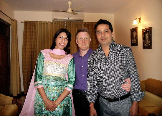 Bhola Bhawan Bed and Breakfast : With My Hosts