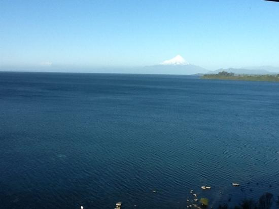 Hotel Cumbres Puerto Varas: The view from our room