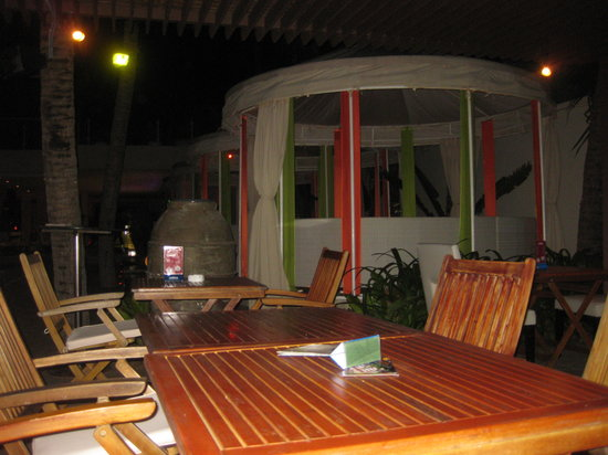 View of the  Sankara inside.. seating areas