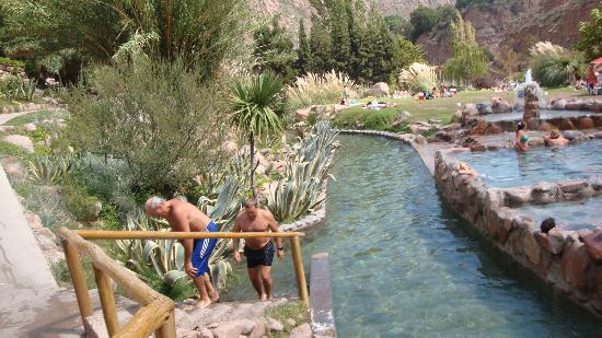 Parque de Agua Termas Cacheuta: rio artificial 2