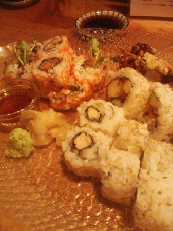 Sada's Sushi & Izakaya: Our sushi platter