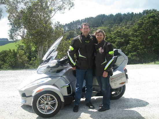 Paradise Motorcycle Day Tours: Scenic stop
