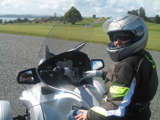 Paradise Motorcycle Day Tours: On our way