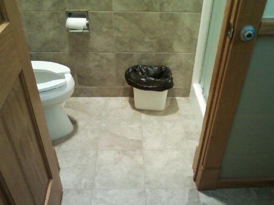 Fish Creek Motel & Cottages: Bathroom