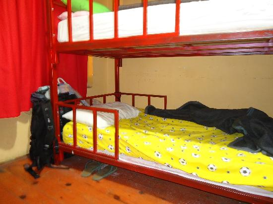 Soho Hostel Istanbul : My bed in the 9 beds dorm.