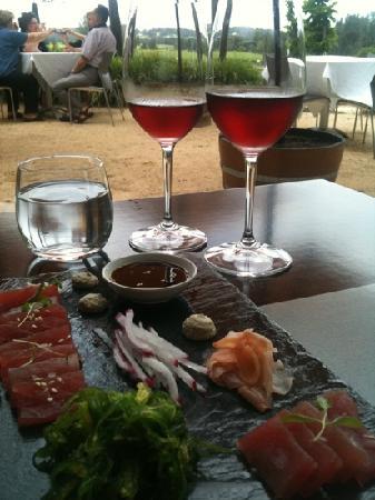 Muse Restaurant: Sashimi entree