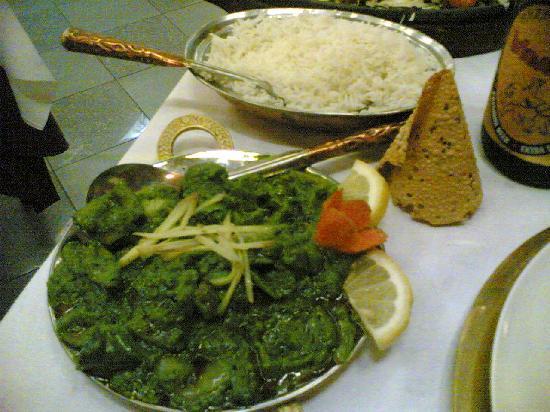 Maharajah: piatto di pollo e verdure