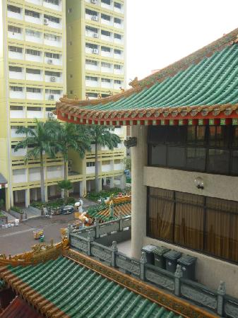 South East Asia Hotel: view from hotel room