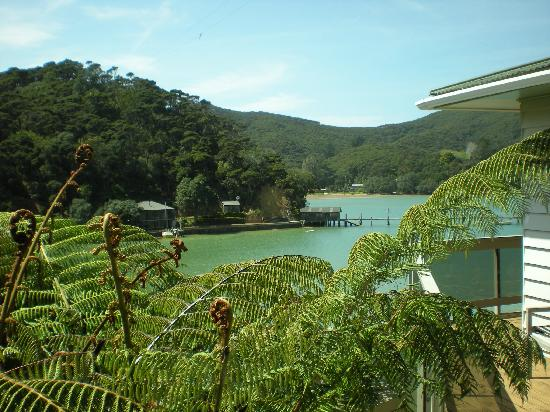 Kawau Island, New Zealand: view from our room