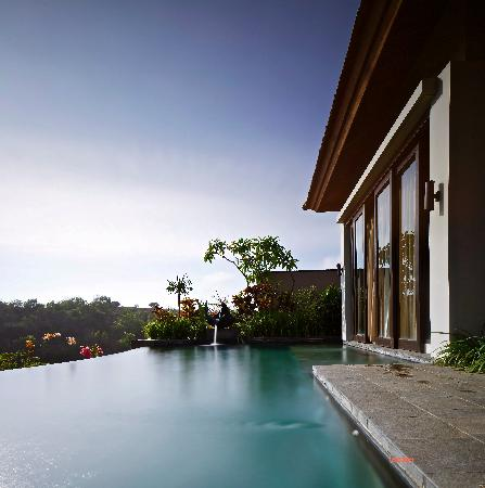 Banyan Tree Ungasan, Bali: our villa - more like a hill view to me