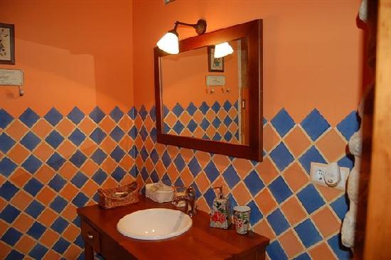 Casa Rural La Cirera: Baño
