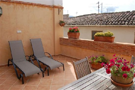 Casa Rural La Cirera : Terraza