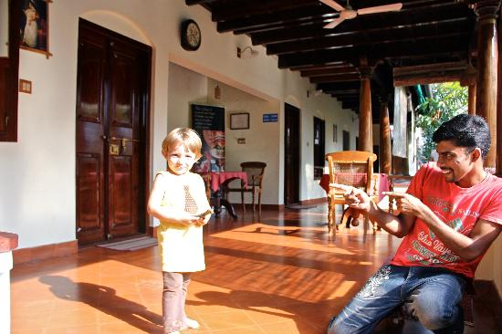 Cochin Heritage Home: Playing with Albin : )