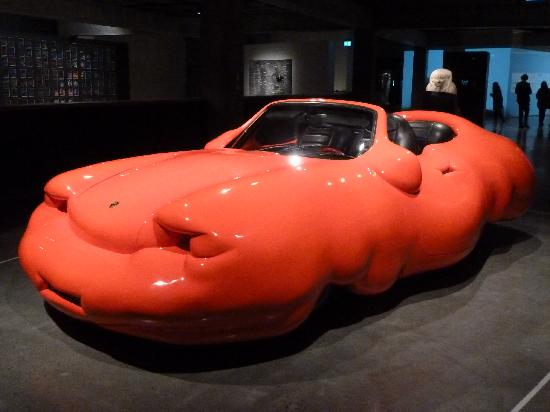 MONA: fat red car