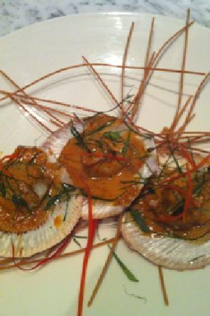 Cha Cha Char: Hervey Bay scallop