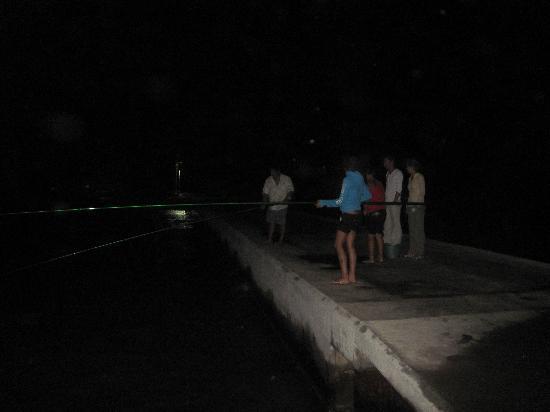 Pension Justine: pêche de nuit