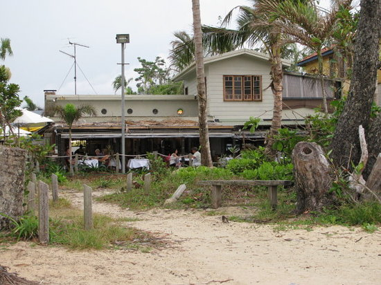 The Shrubbery Taverna from Mission Beach