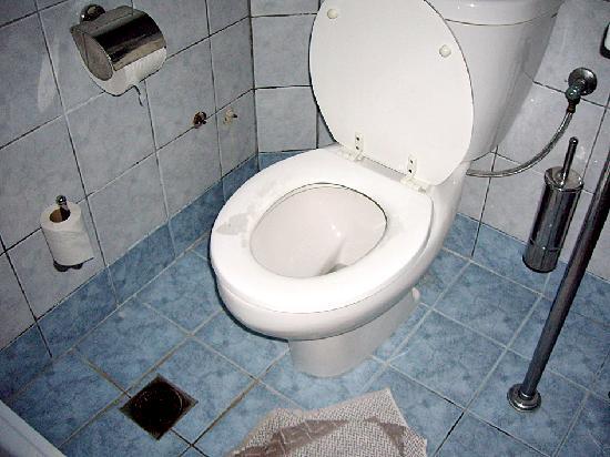 Miramare Beach Hotel: toilette de la chambre