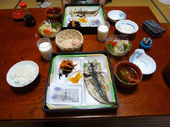 Mnshuku Ryokan Hiyoshiya: 朝食