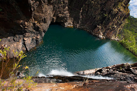 Kakadu National Park, Australia: View of the main pool