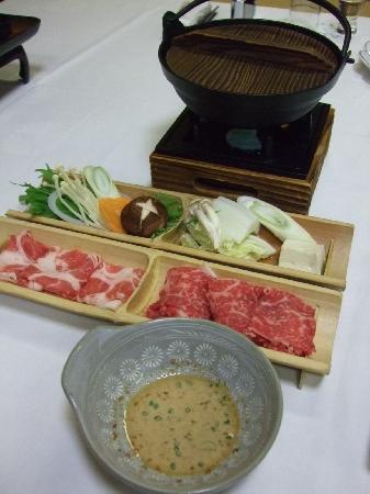 Yunosato Hayama: 夕食のしゃぶしゃぶおいしかったです