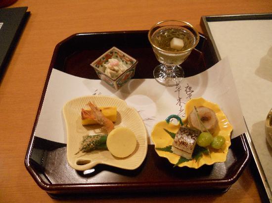 Taikanso: 季節感たっぷりの食事