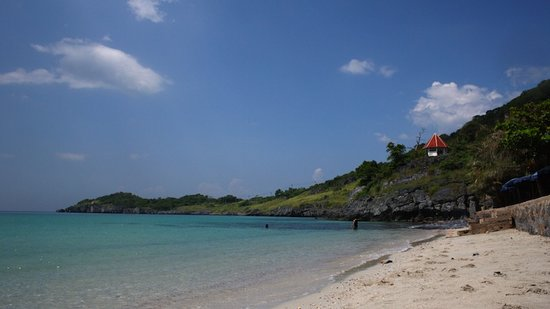 Ko Si Chang, Thaïlande : Strand der Insel