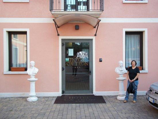 Hotel Cà Tron : L'entrata dell'hotel