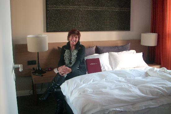 Adina Apartment Hotel Berlin Checkpoint Charlie : Freundin Inge,ausgeruht in den nächsten Tag!