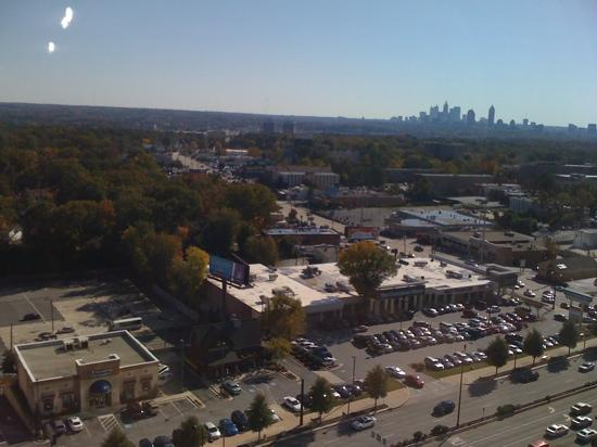Grand Hyatt Atlanta in Buckhead: view from upgraded high floor room