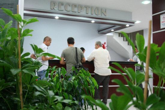 Ali Bilir Hotel: Reception