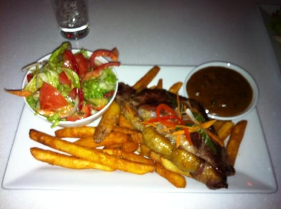 Bar 138 on Barrack: steak