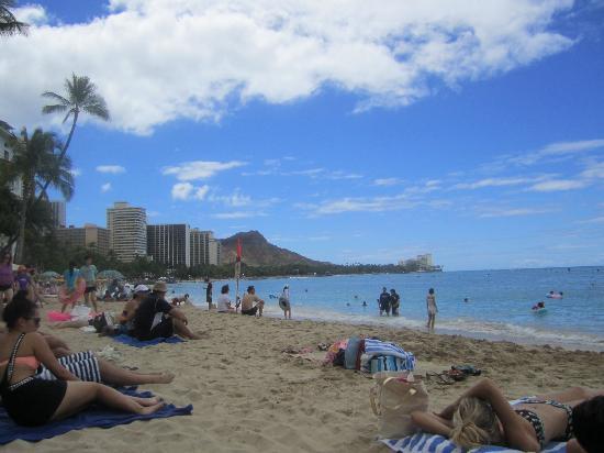 Moana Surfrider A Westin Resort Spa Waikiki Beach And Diamond Head In The
