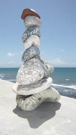 Casa La Lanchita: rocks!