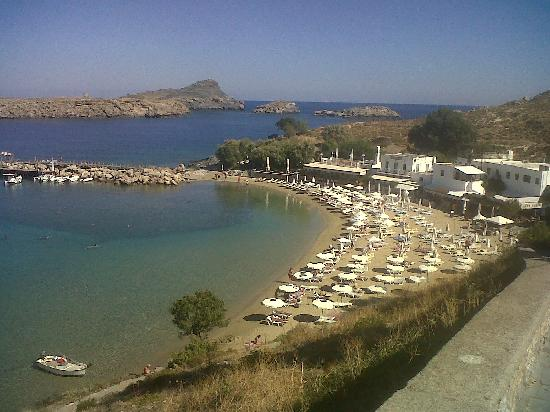 Krana Apartments: lindos beach