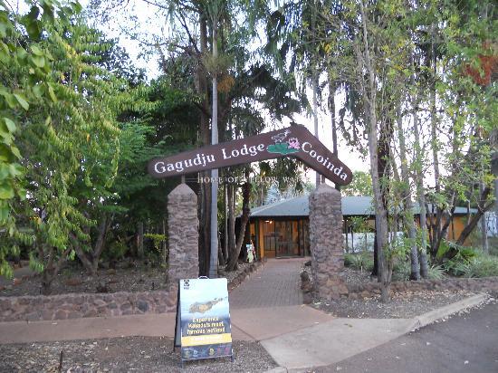 Cooinda Lodge Kakadu: Entrée du site