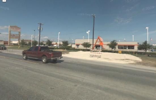 Whataburger: Driving west on FM 3009