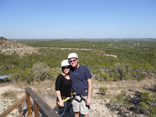 Wimberley Zipline Adventures: view from up top